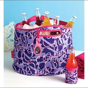 "| Lilly Pulitzer | ""Booze Cruise"" bucket cooler"